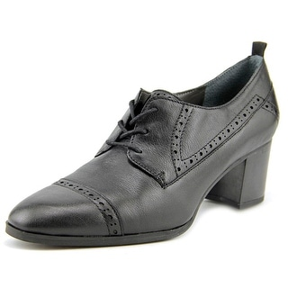 Franco Sarto Alberta Round Toe Leather Oxford
