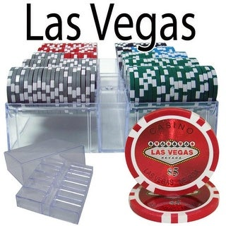 PCS-0701A 200 Ct - Pre-Packaged - Las Vegas 14 G - Acrylic Tray