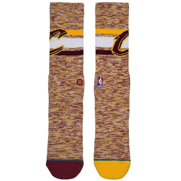 Stance Men's Cavs Melange Crew Socks