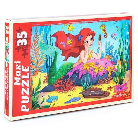Little Mermaid's Dreams 35 pc. Maxi-Puzzle for Kids