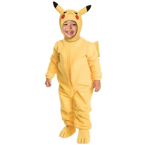 Pokemon Pikachu Romper Costume Toddler - Multi-Colored