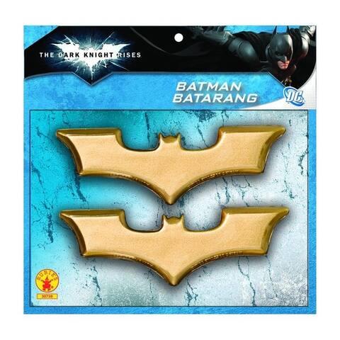 Batman Batarangs Costume Accessory Weapon - Gold