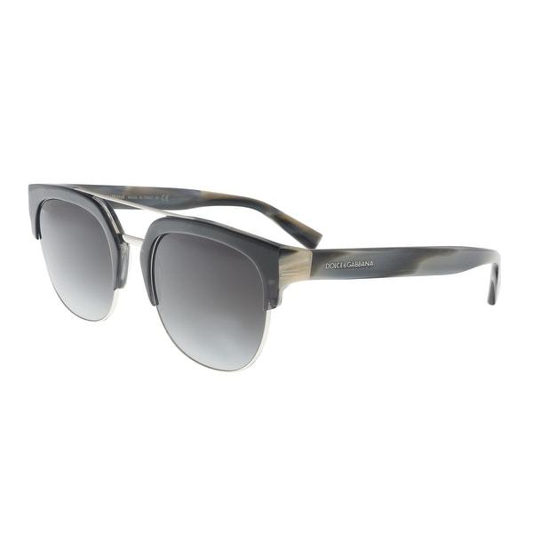 315783 Gabbana DG4317 Gradient Sunglasses Dolce amp; Shop Square Brown IPxqwnt