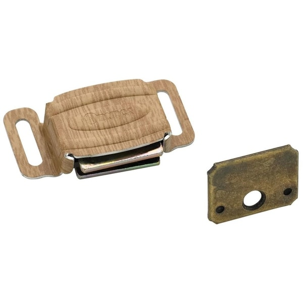 """Amerock 144 1-1/4"""" Magnetic Catch from the Functional Collection - plastic tan - N/A"""