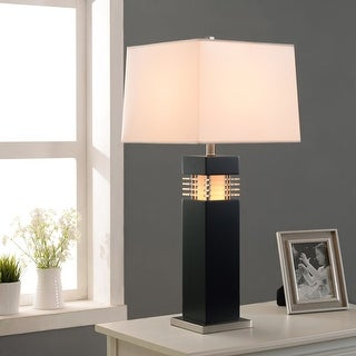 """Link to Moore 32"""" Table Lamp - Black Finish with Acrylic Accents Similar Items in Table Lamps"""