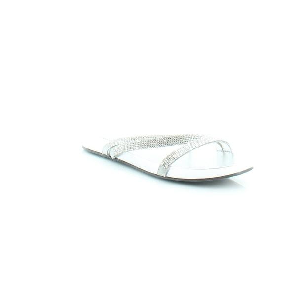 Marc Fisher Kalifa Women's Sandals & Flip Flops Silver