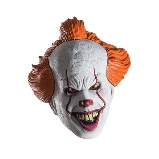 Rubies IT Pennywise Adult 1/2 Mask - White