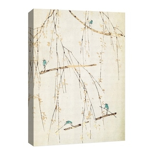 "PTM Images 9-126693  PTM Canvas Collection 8"" x 10"" - ""Moving Japan"" Giclee Branches Art Print on Canvas"