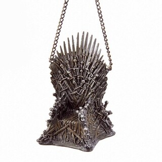 "Game of Thrones Iron Throne 3"" Hanging Ornament"