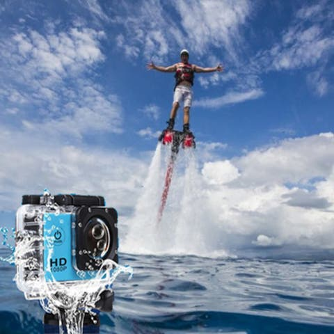 All Pro Action Sports Camera With 1080P And Wifi