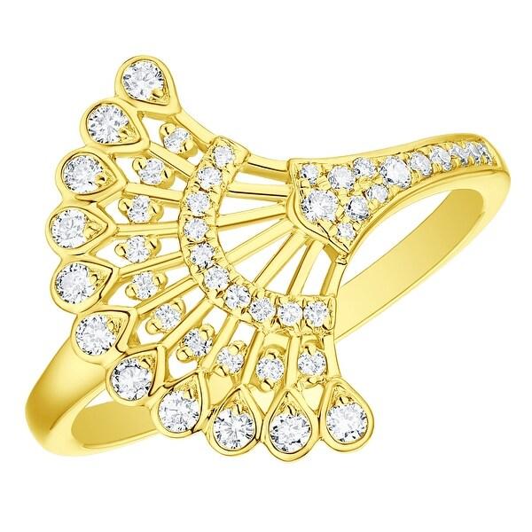 Jewelry & Watches Diamond Elegant Shape Pink Diamond Bridal Set 3.34 Ct Round Diamond Sterling Silver Ring New Ring !