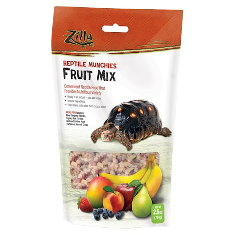 Zilla Reptile Munchies Fruit 2.5 ounces - 2.5 ounces