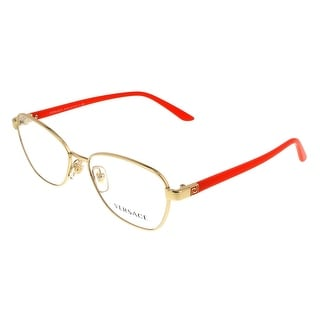Versace VE1221 1252 Gold/ORANGE Oval Opticals