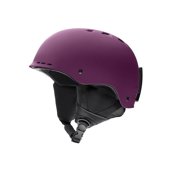 b793dddcb81ca Shop Smith Optics Holt Snow Helmet (Matte Monarch  Adult Large) - Purple - Free  Shipping Today - Overstock - 26483247