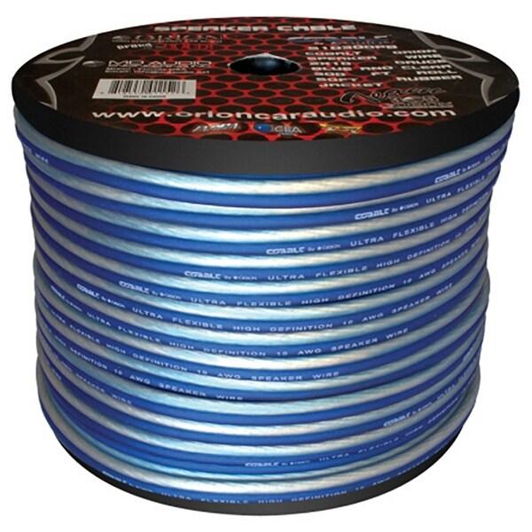 Cobalt Orion Speaker Wire 10 Gauge Blue/Clear 300ft