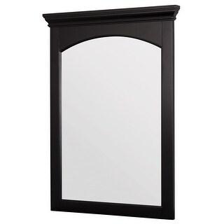 "Foremost BECM2331 Berkshire 23"" Vanity Bathroom Mirror with Crown Molding - Espresso"