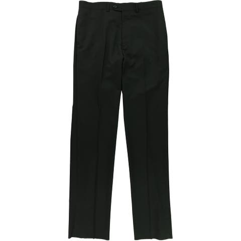 Alfani Mens Flat Front Casual Trouser Pants - 34W x UnfinishedL