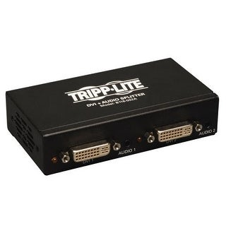 Tripp Lite B116-002A 2-Port Dvi Splitter W/ Audio & Signal Booster