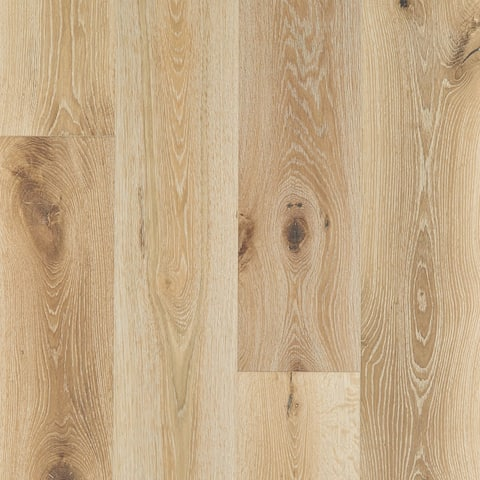 """Shaw SW707 Expressions 7-1/2"""" Wide Wire Brushed Engineered Hardwood"""