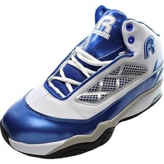 Rycore Zero 3 Men Round Toe Leather Blue Sneakers