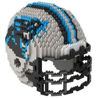 Carolina Panthers 3D NFL BRXLZ Bricks Puzzle Team Helmet