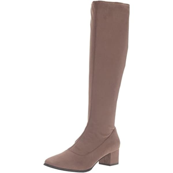 Tahari Womens Gideon Knee-High Boots Textured