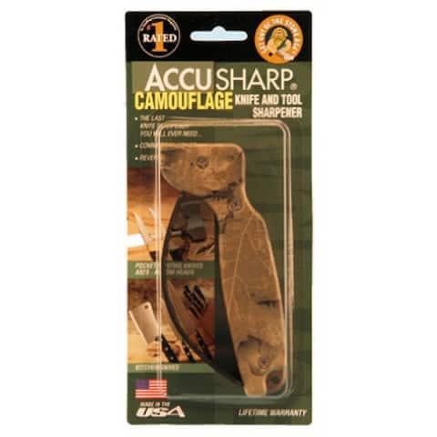 """Accusharp"" Camouflage Knife Sharpener"