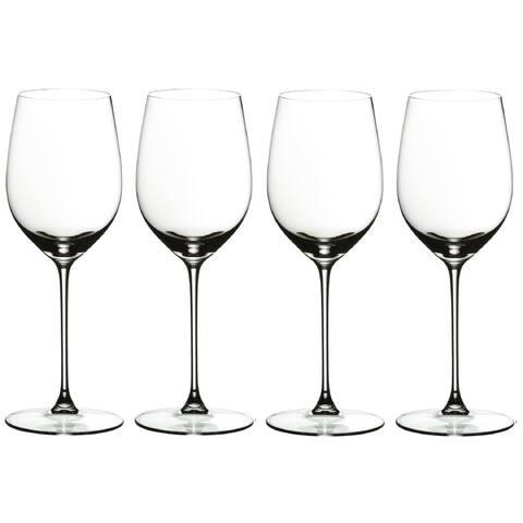 Riedel Veritas Leaded Crystal Viognier/Chardonnay Wine Glass(Set of 4)