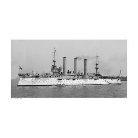 ''USS Brooklyn, 1896'' by Anon Transportation Art Print (13 x 19 in.)