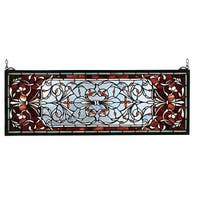 Meyda Tiffany 98059 Stained Glass Tiffany Window from the Tapestries Collection - n/a