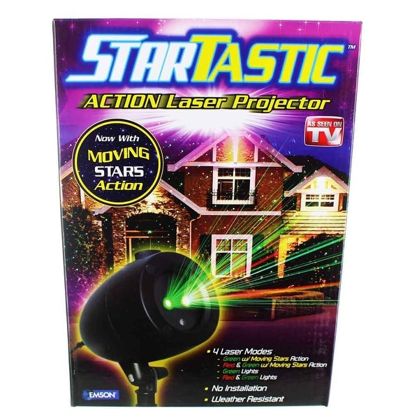 Startastic Action Laser Projector As Seen On TV 4 Laser Modes
