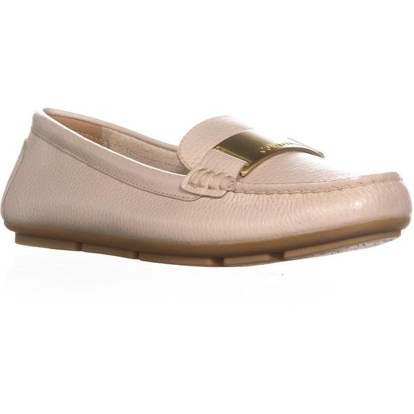 Calvin Klein Lisette Slip-On Dress Loafers, Sand - 8 us / 38 eu