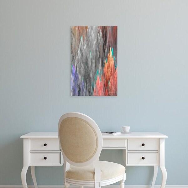 Easy Art Prints James Burghardt's 'Brush Panels II' Premium Canvas Art