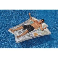 Inflatable Benjamin Franklin Money Lounge Pool Float - Green
