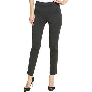 Calvin Klein Womens Casual Pants Ponte Pull On