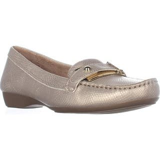 naturalizer Gisella Comfort Flat Loafers, Taupe Snake|https://ak1.ostkcdn.com/images/products/is/images/direct/61a9f469d9fb15e2b6a838d8c4b0c78737e3f1a2/naturalizer-Gisella-Comfort-Flat-Loafers%2C-Taupe-Snake.jpg?impolicy=medium