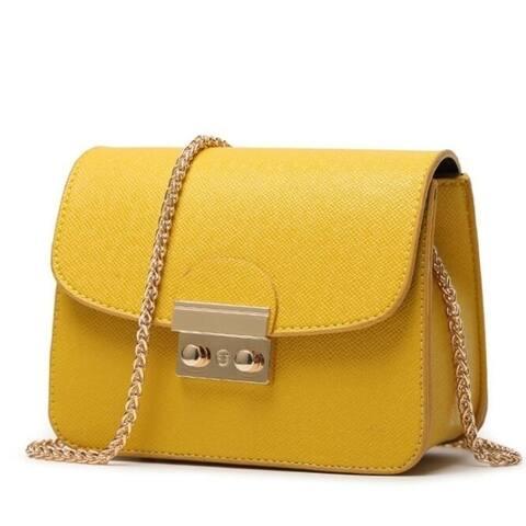 Women Bags Pu Leather Messenger Bag Clutch Bags Designer Mini Shoulder Bag Women Handbag Hot Sale Purse
