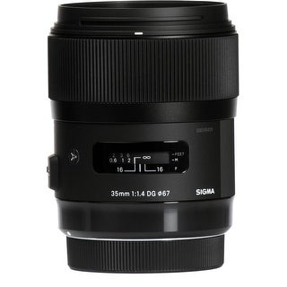 Sigma 35mm f/1.4 DG HSM ART Lens for Nikon F - Black