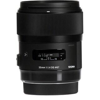 Sigma 35mm f/1.4 DG HSM ART Lens for Nikon F - Black