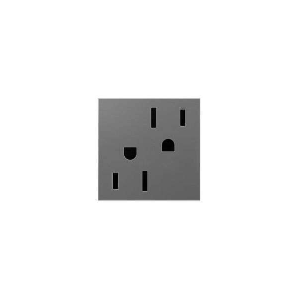 Legrand ARTR1524 Adorne Double 15 Amp Tamper Resistant Outlet