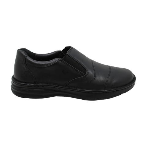 Drew Men Fairfield 43906 Black/Calf Leather 11 Narrow (B) US