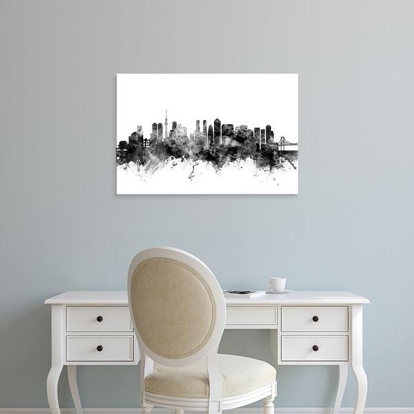 Easy Art Prints Michael Tompsett's 'Tokyo Japan Skyline' Premium Canvas Art