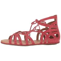 Gentle Souls Womens break my heart 3 Leather Open Toe Casual Strappy Sandals - 6