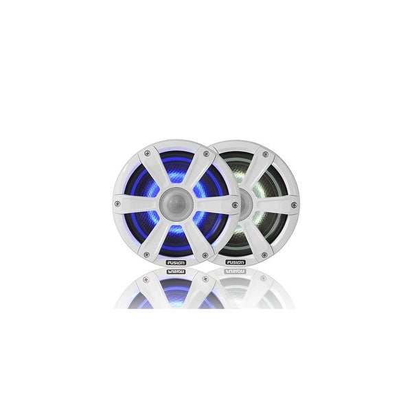 Fusion SG-FL77SPW Two Way Marine Speakers with UV Resistant Grilles