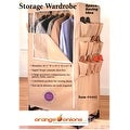 Portable Space Saver Storage Wardrobe w/ Shoe Rack - Thumbnail 0