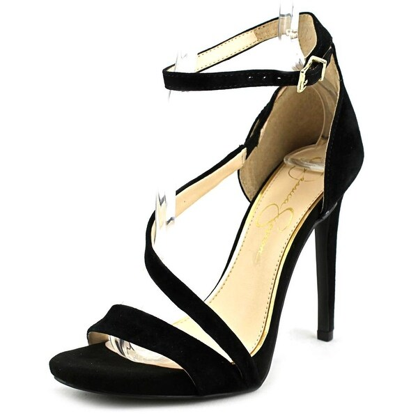 Jessica Simpson Rayli Women Black Sandals