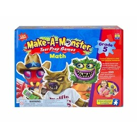 Make-A-Monster Math Test Prep Games - Grade 5