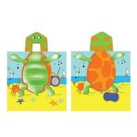 Kreative Kids Boys Girls Turtle Cap Bath Towel One Size