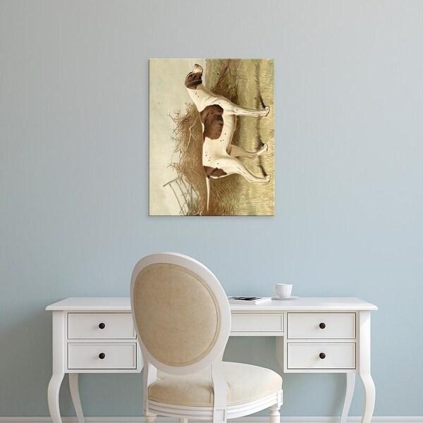 Easy Art Prints Vero Shaw's 'Pointer' Premium Canvas Art