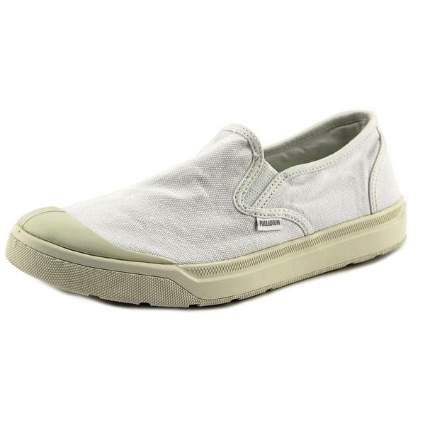 Palladium Pallarue Zip CVS Women Canvas White Fashion Sneakers